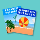 Holiday brochures